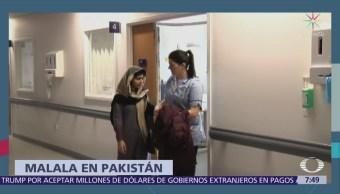 Malala regresa a Pakistán, seis años después del ataque que sufrió