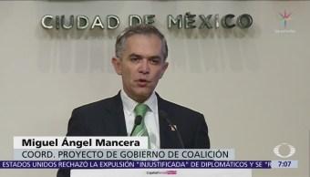 Mancera Confirma Presentó Licencia Definitiva Cargo Jefe Gobierno Cdmx