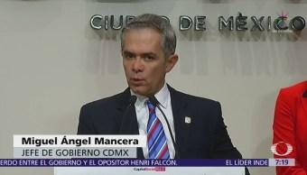 Mancera cuestiona video de la visita de Ricardo Anaya a la Seido