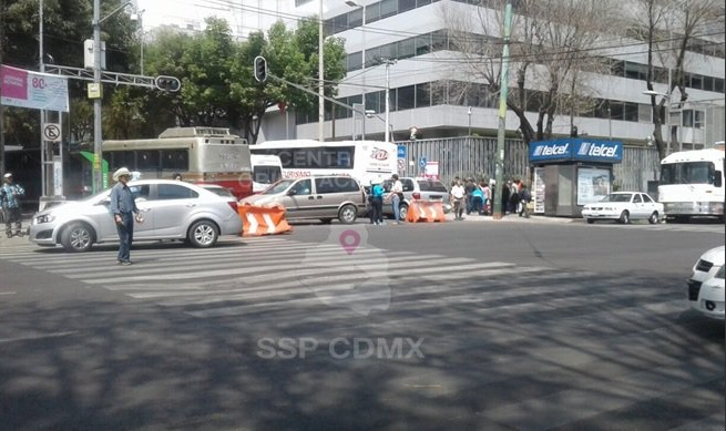 Bloqueos provocan caos y afectan tránsito en la CDMX