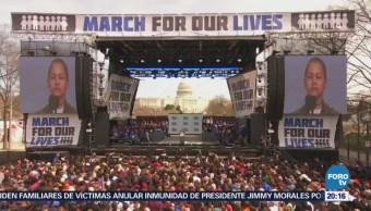 'Marcha por Nuestras Vidas' exige control de armas