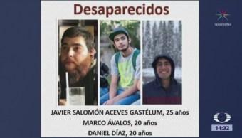 Marchan en Guadalajara por tres jóvenes desaparecidos