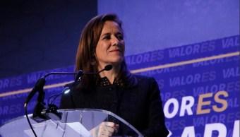 Margarita Zavala buscará equidad en tiempos en medios de comunicación