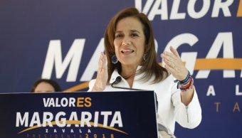 Margarita Zavala recaudará recursos con ciudadanos para hacer campaña