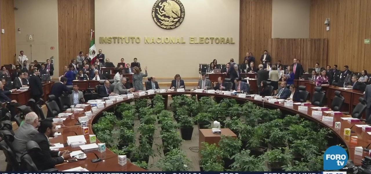 Margarita Zavala El Bronco Acuden Audiencia Ine