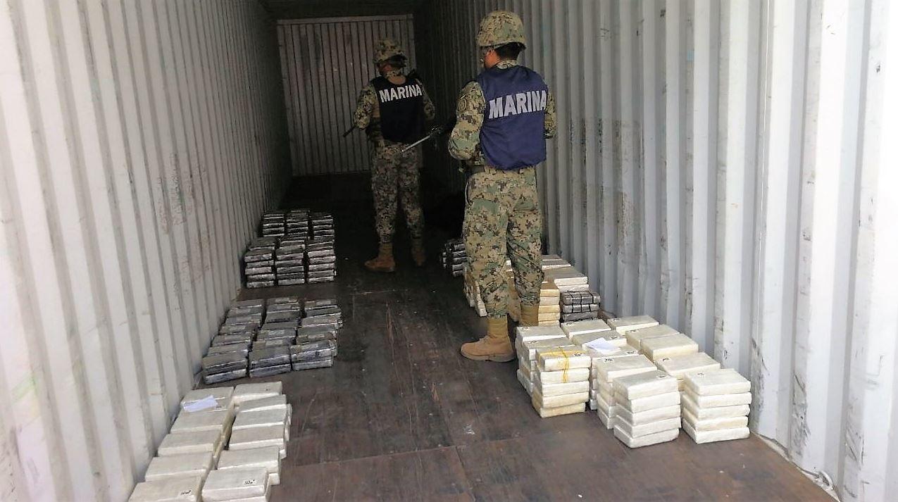 Aseguran 900 kilos de cocaína en Guerrero
