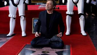 Mark Hamill recibe estrella paseo fama Hollywood