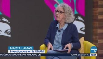 Marta Lamas habla de Mujeres que luchan