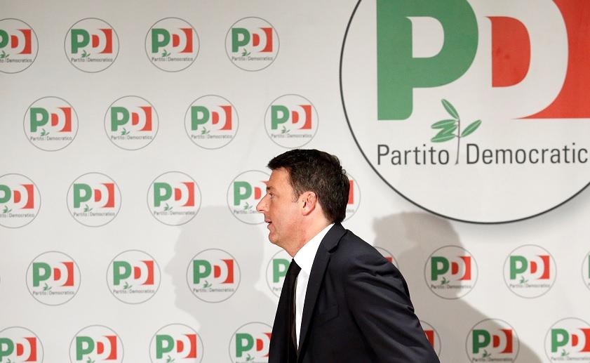 Renzi anuncia oficialmente su dimisión como líder del Partido Democrático de Italia