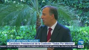 Meade se reúne con empresas de hidrocarburos
