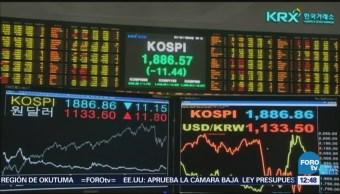 Mercado bursátil cae por las medidas comerciales de Estados Unidos