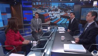 Nuno, Zepeda y Yeidckol analizan impacto de carrera presidencial en TLC