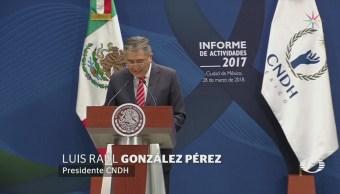México deja 'enorme duda' en materia de derechos humanos