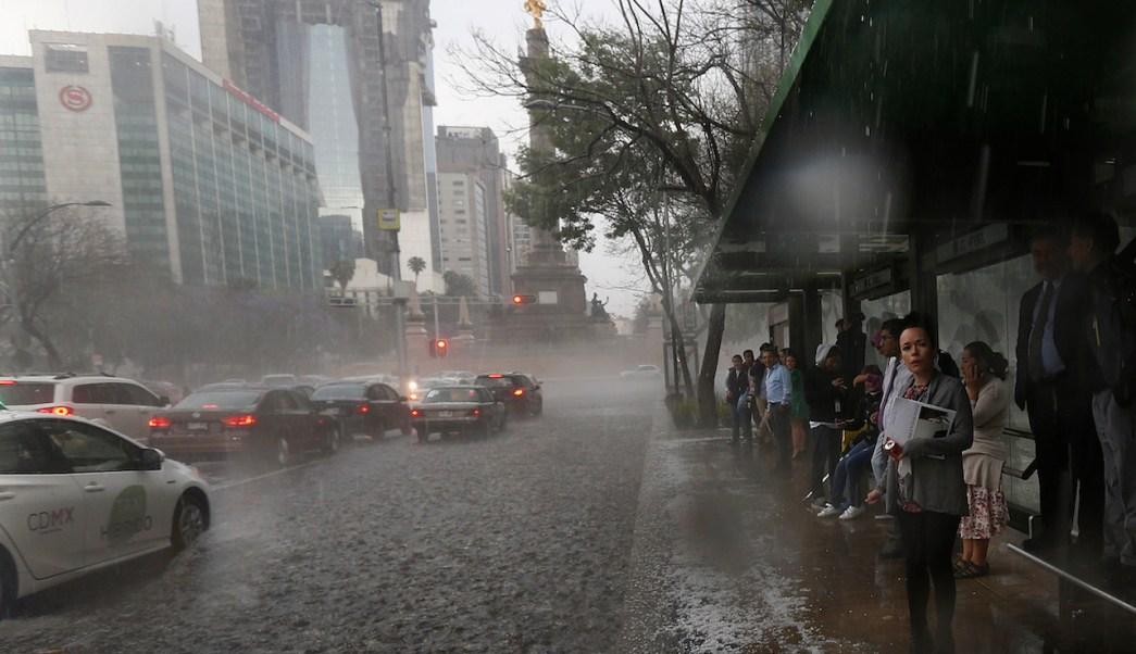 Ciudad-México-Fuertes-Lluvias-Granizada-Imágenes