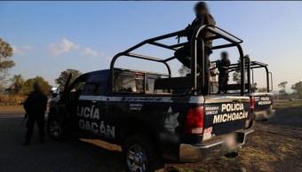 'Los Viagras', responsables de bloqueos y quema de vehículos en Michoacán