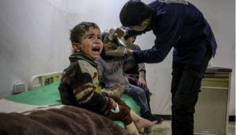 Mil niños sirios han resultado muertos o heridos en Siria