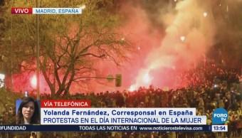 Miles de mujeres se manifiestan en España