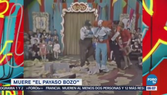 Muere Bozo el payaso