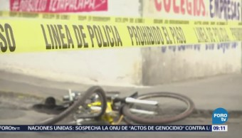 Muere ciclista atropellado por tráiler en Periférico, delegación Iztapalapa