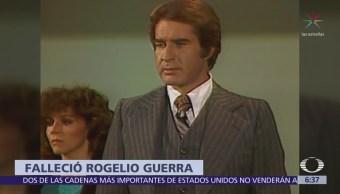 Muere el actor mexicano Rogelio Guerra a los 81 años de edad