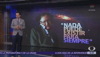 Muere Stephen Hawking, afamado teórico y divulgador de la ciencia