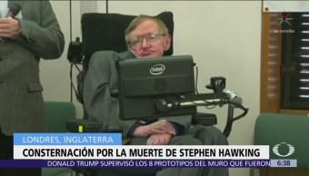 Muerte de Stephen Hawking conmociona al mundo científico