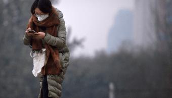 Beijing emite alerta naranja por contaminación