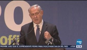 Netanyahu felicita a EU por condicionar fondos para la ANP