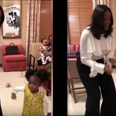 Video: Niña fascinada con Michelle Obama se encuentra con ella y bailan juntas