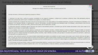 Obispos de México piden a electores evitar elección con base en 'mal menor'