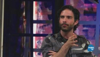 Osvaldo Benavides en 'El Interrogatorio' con Silvestre López Portillo