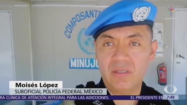 Otro mexicano se une a las filas de las fuerzas de paz de la ONU