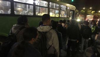 Paro del transporte público afecta a miles de usuarios en Guadalajara, Jalisco