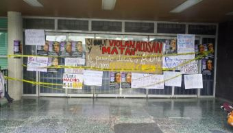 Estudiantes de la UNAM se manifiestan contra el acoso y abuso sexual