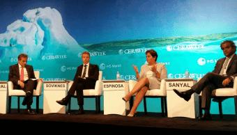 Patricia Espinosa cree que Trump podría cambiar postura sobre Acuerdo de París