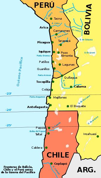 Peru-bolivia-chile-mar-fronteras