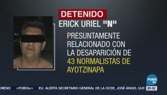 PF detiene a otra persona vinculado en el caso Ayotzinapa