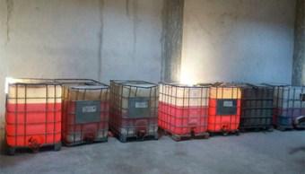 PGR asegura 70 mil litros de hidrocarburo en Jalisco