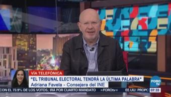 Plataformas para recabar firmas son confiables dice Adriana Favela, consejera del INE