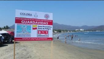 Vacacionarán en las playas de Colima más de 80 mil personas