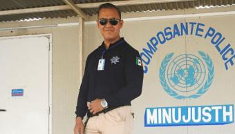 Policía federal se une a misión de cascos azules ONU