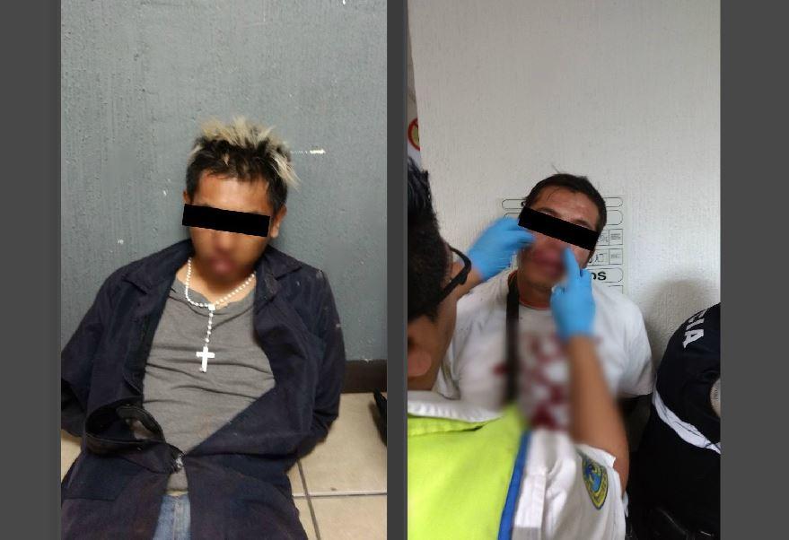 Policías capitalinos evitan linchamiento de dos delincuentes en Cuajimalpa