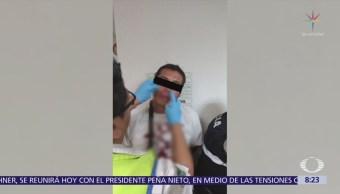 Policías CDMX evitan linchamiento de dos delincuentes en Cuajimalpa