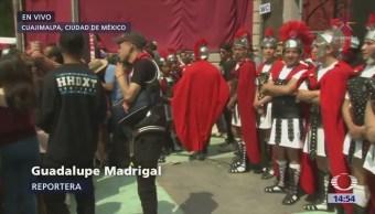 Por iniciar viacrucis en Cuajimalpa