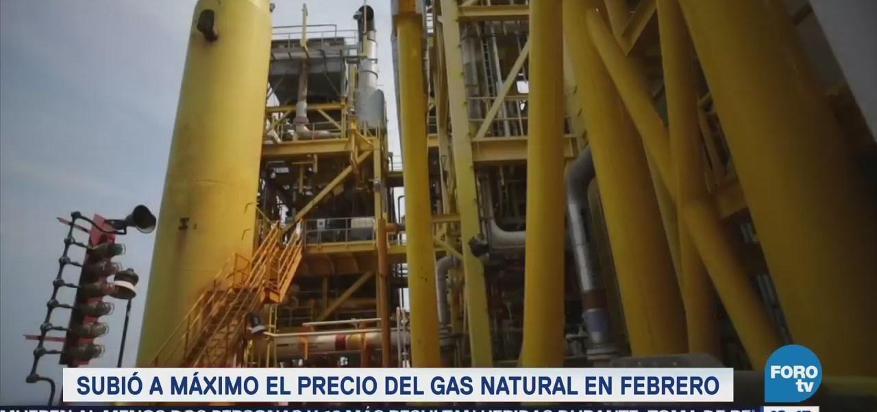 Precio Gas Natural México Toca Máximo Nivel Febrero
