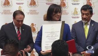Premian a la periodista Karla Iberia Sánchez
