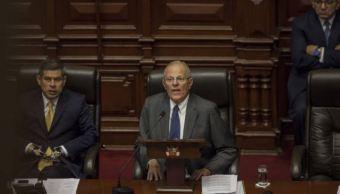 Congreso de Perú debatirá destitución del presidente Pablo Kuczynski. (Gettyimages)