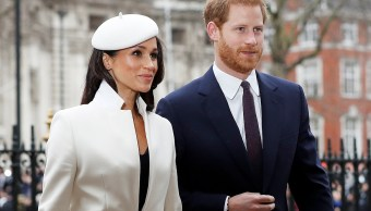 Meghan Markle acude al primer acto junto a la reina Isabel II