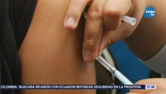 Promueven vacunación contra sarampión, rubeola y poliomielitis