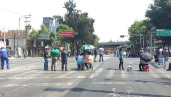 Vecinos de Iztacalco protestan por falta de agua